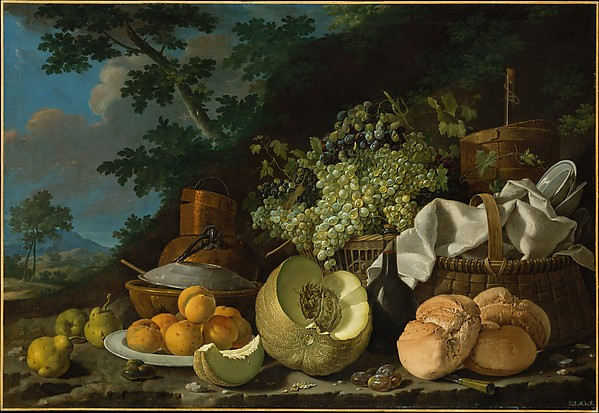 The Afternoon Meal (La Merienda)