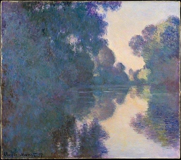 Claude Monet | Morning on the Seine near Giverny by Claude Monet (French, Paris 1840-1926 Giverny)