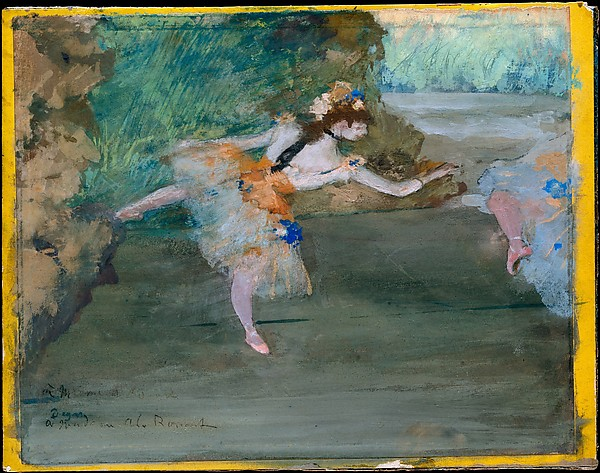 This is What Edgar Degas and Dancer Onstage Looked Like  in 1877