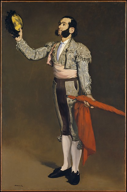 This is What douard Manet and A Matador Looked Like  in 1866