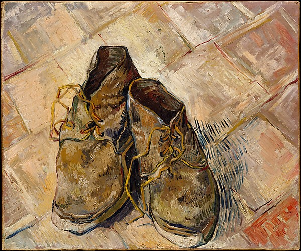 This is What Vincent van Gogh and Shoes Looked Like  in 1888