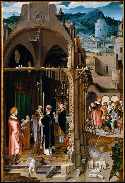 A Sermon on Charity (possibly the Conversion of Saint Anthony)