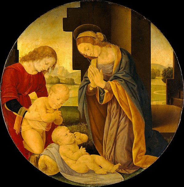 Madonna Adoring the Child with the Infant Saint John the Baptist and an Angel