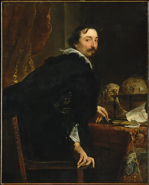 Fascinating Historical Picture of Anthony van Dyck with Lucas van Uffel (died 1637) in 1622