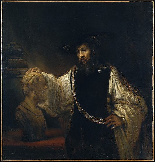 Aristotle with a Bust of Homer