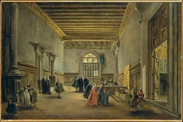 The Antechamber of the Sala del Maggior Consiglio