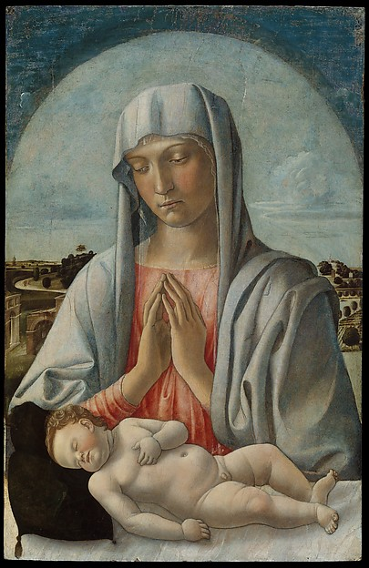 Madonna Adoring the Sleeping Child