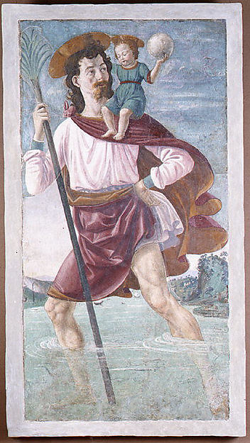 Saint Christopher and the Infant Christ