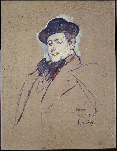 This is What Henri de Toulouse-Lautrec and Henri-Gabriel Ibels (18671936) Looked Like  in 1892