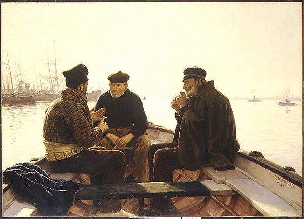 Boatmen of Barcelona