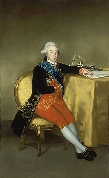 Vicente Joaquín Osorio Moscoso y Guzman, Count of Altamira