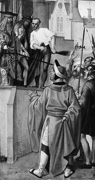 Ecce Homo, (reverse) Christ Blessing; The Disrobing of Christ, (reverse) Saint John the Baptist