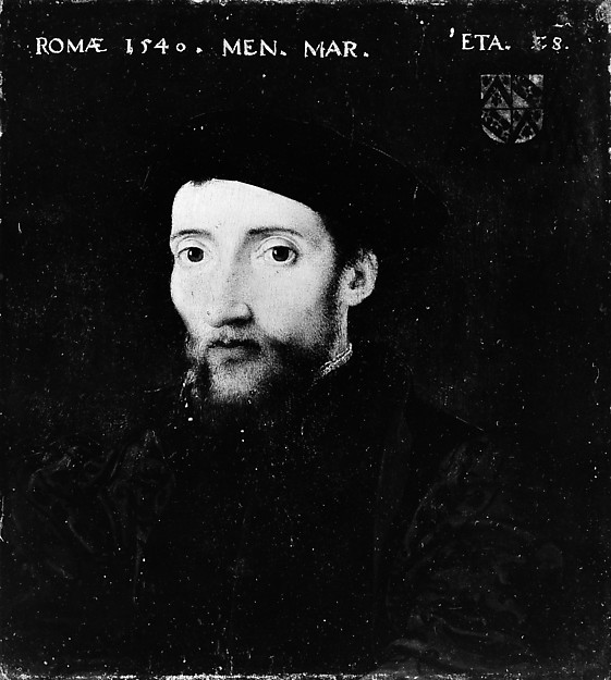 Portrait of a Member of the de Thou Family
