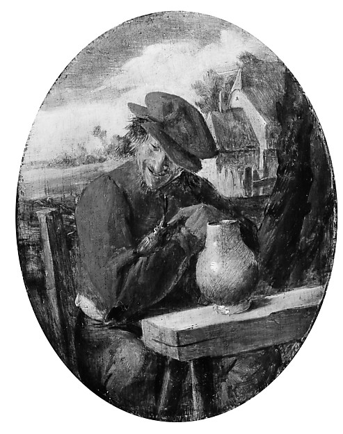 A Peasant with a Bird