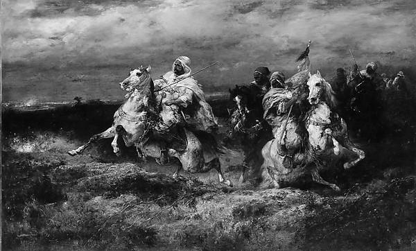 Battle Scene: Arabs Making a Detour