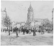 Place Saint-Germain-des-Prés, Paris