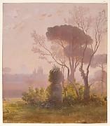 Garden of the Villa Medici, Rome