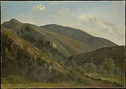 Hilly Landscape with Sheep