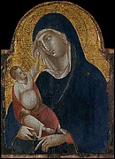 Madonna and Child (after Duccio)