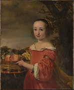 Petronella Elias (16481667) with a Basket of Fruit