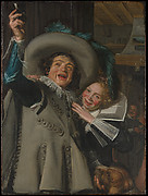 Young Man and Woman in an Inn (&quot;Yonker Ramp and His Sweetheart&quot;)