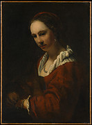 Young Woman with a Pearl Necklace
