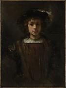 Rembrandt's Son Titus (1641–1668)