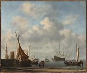 Entrance to a Dutch Port
