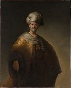 "Man in Oriental Costume (""The Noble Slav"")"