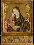 Madonna and Child with the Dead Christ, Saints Agnes and Catherine of Alexandria, and Two Angels
