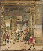 Joseph Interpreting the Dreams of Pharaoh