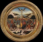 The Triumph of Fame; (reverse) Impresa of the Medici Family and Arms of the Medici and Tornabuoni Families