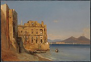 The Palace of Donn'Anna, Naples