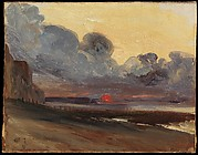 Sunset on the Normandy Coast