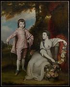 George Capel, Viscount Malden (1757–1839), and Lady Elizabeth Capel (1755–1834)