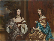 Mary Capel (1630–1715), Later Duchess of Beaufort, and Her Sister Elizabeth (1633–1678), Countess of Carnarvon