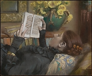 The Artist's Wife (Périe, 1849–1887) Reading
