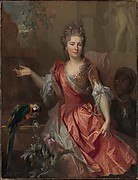 Portrait of a Woman, Possibly Madame Claude Lambert de Thorigny (Marie Marguerite Bontemps, 1668–1701)