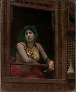 Woman at a Balcony