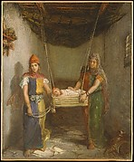 Scene in the Jewish Quarter of Constantine