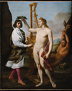 Marcantonio Pasqualini (16141691) Crowned by Apollo