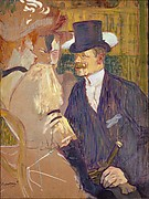The Englishman (William Tom Warrener, 18611934) at the Moulin Rouge