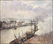 Steamboats in the Port of Rouen