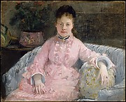 The Pink Dress (Albertie-Marguerite Carr&#233;, later Madame Ferdinand-Henri Himmes, 18541935)