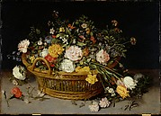 A Basket of Flowers