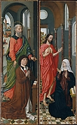 Saint Paul with Paolo Pagagnotti; Christ Appearing to His Mother