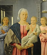 Madonna and Child with Two Angels (Senigallia Madonna)