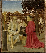 Saint Jerome and a Supplicant