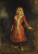Marion Lenbach (1892–1947), the Artist's Daughter
