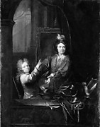 Self-Portrait with Pierre de la Roche
